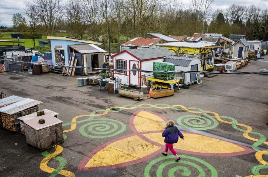 Dignity Village- Portland, OR