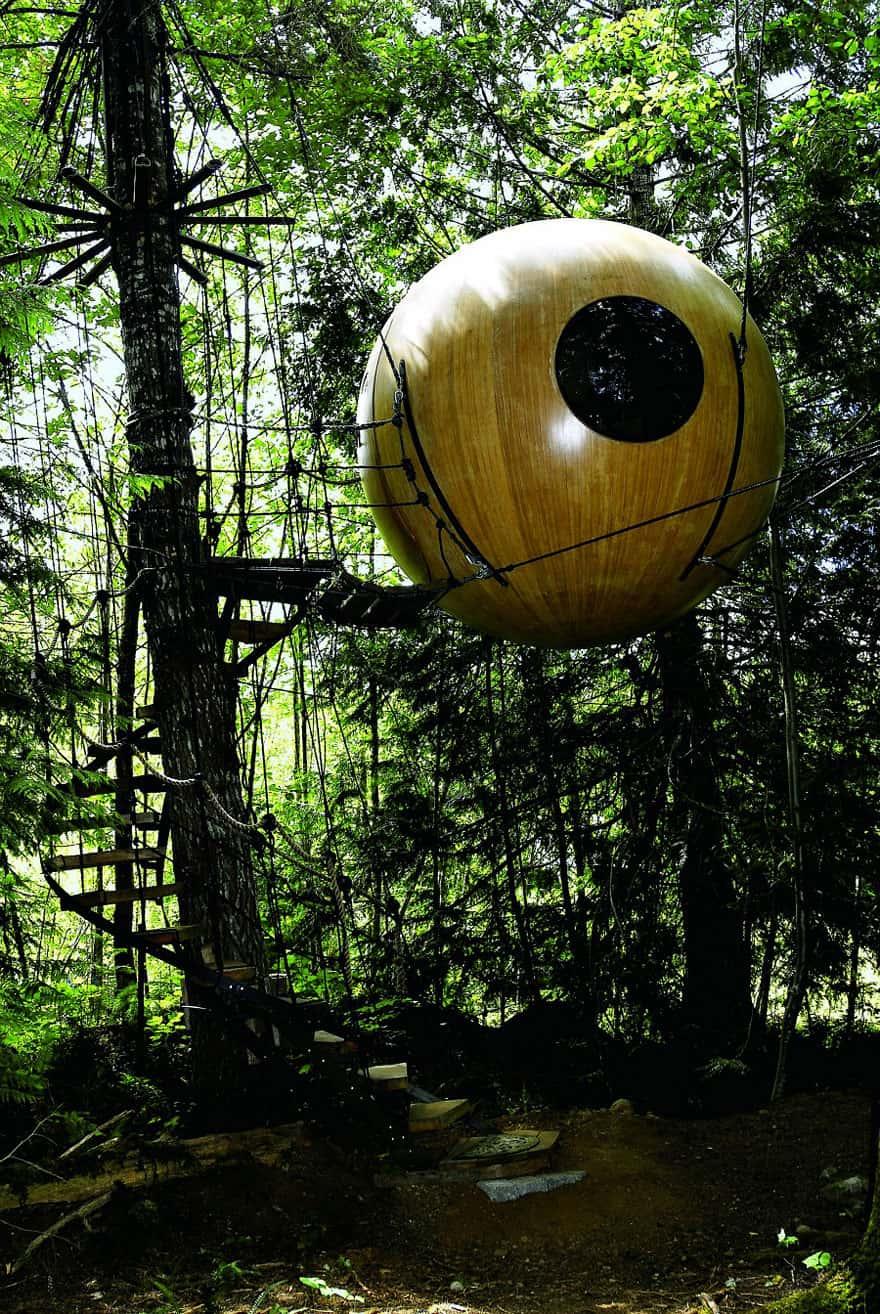 Free Spirit Sphere Treehouse