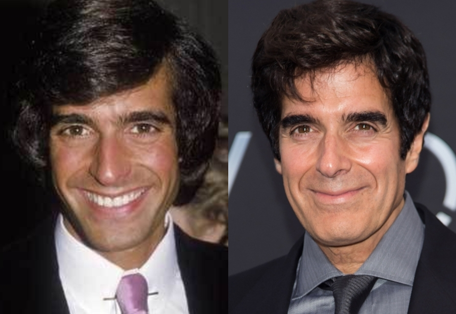 DAVID COPPERFIELD 62 YEARS OLD