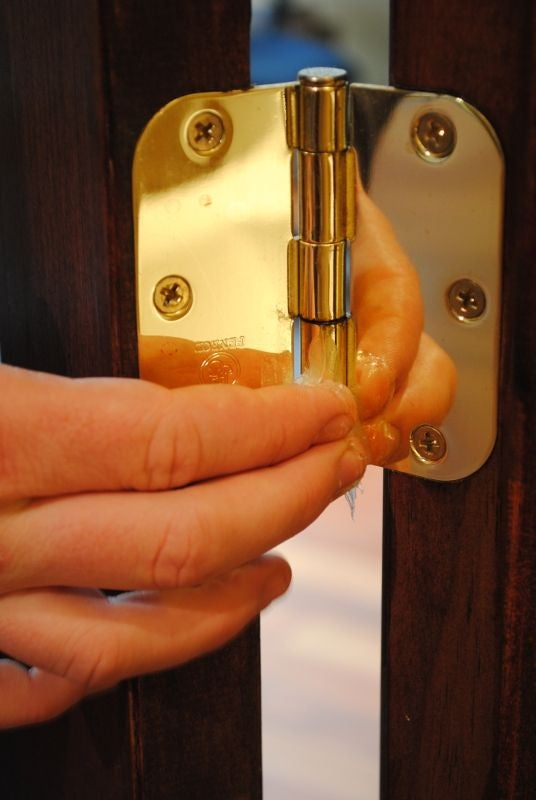 Loosen Doors With Petroleum Jelly