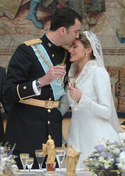 Felipe II Y Leticia Ortiz