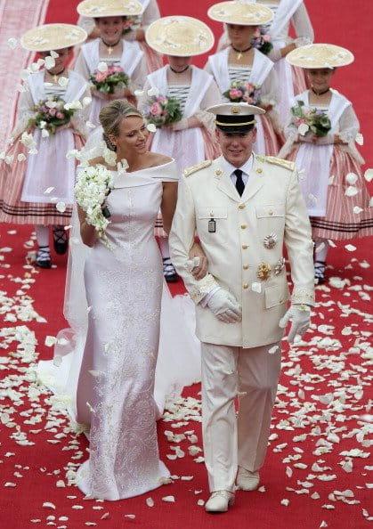 Príncipe Albert Y Charlene Wittstock