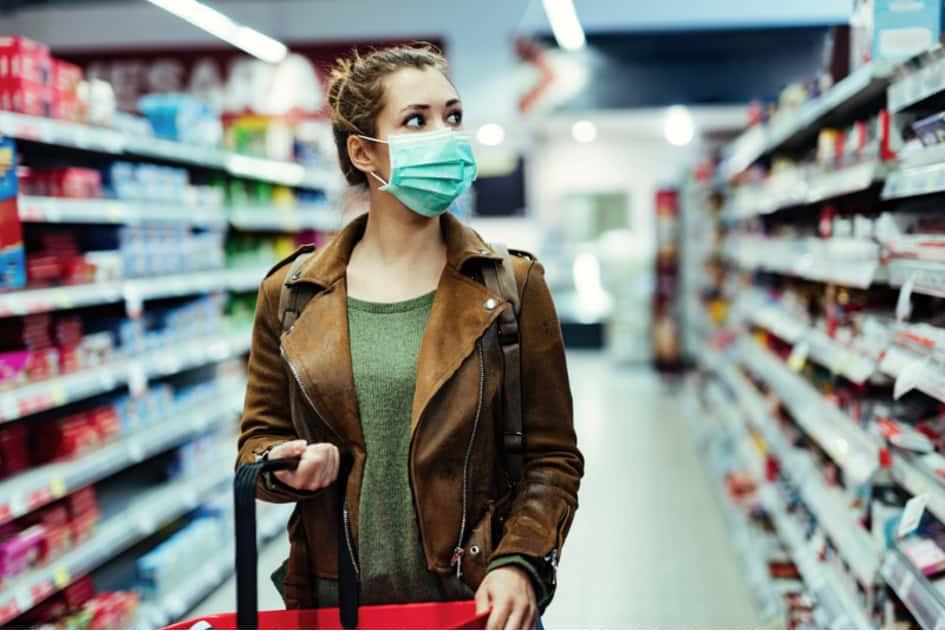 Elle Faisait Simplement Ses Courses Habituelles Au Supermarché